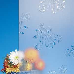 фери леди бесцветное матовое декоративное стекло