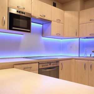 цветная подсветка светодиодной лентой