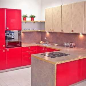 п образные кухни 14