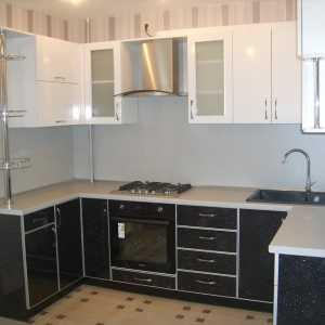 п образные кухни 16