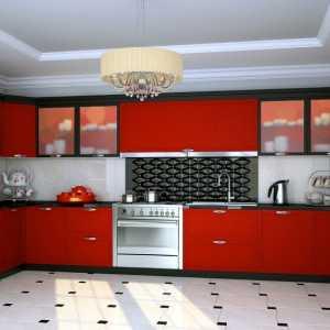 п образные кухни 7