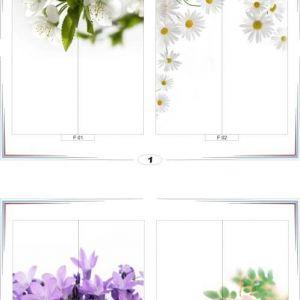 фотопечать для шкафов купе цветы 1 и 2