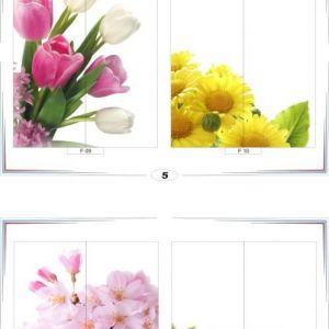фотопечать для шкафов купе цветы 5 и 6