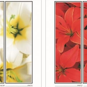 фотопечать для шкафов купе цветы 109 и 110