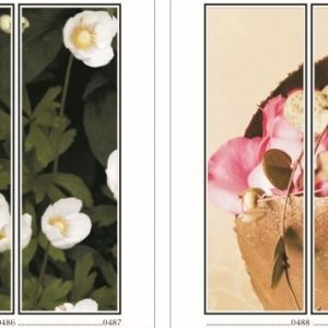 фотопечать для шкафов купе цветы 123 и 124