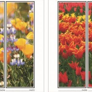 фотопечать для шкафов купе цветы 125 и 126