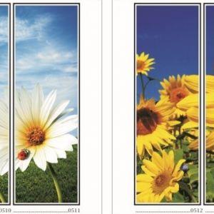 фотопечать для шкафов купе цветы 128 и 130