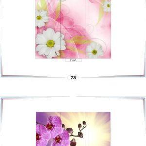 фотопечать для шкафов купе цветы 73 и 74