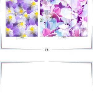 фотопечать для шкафов купе цветы 75 и 76