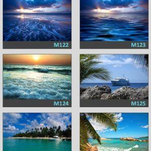 фотопечать море 55