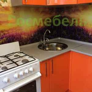 компактная кухня с барной стойкой 2